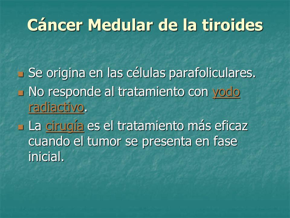 Cáncer Medular de la tiroides