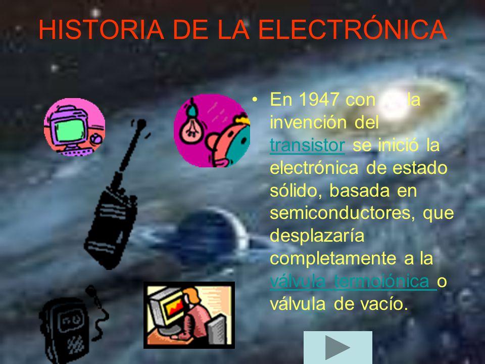 Historia de la electr nica ppt descargar for Oficina electronica de empleo