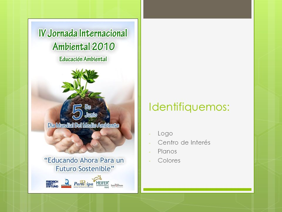 Identifiquemos: Logo Centro de Interés Planos Colores