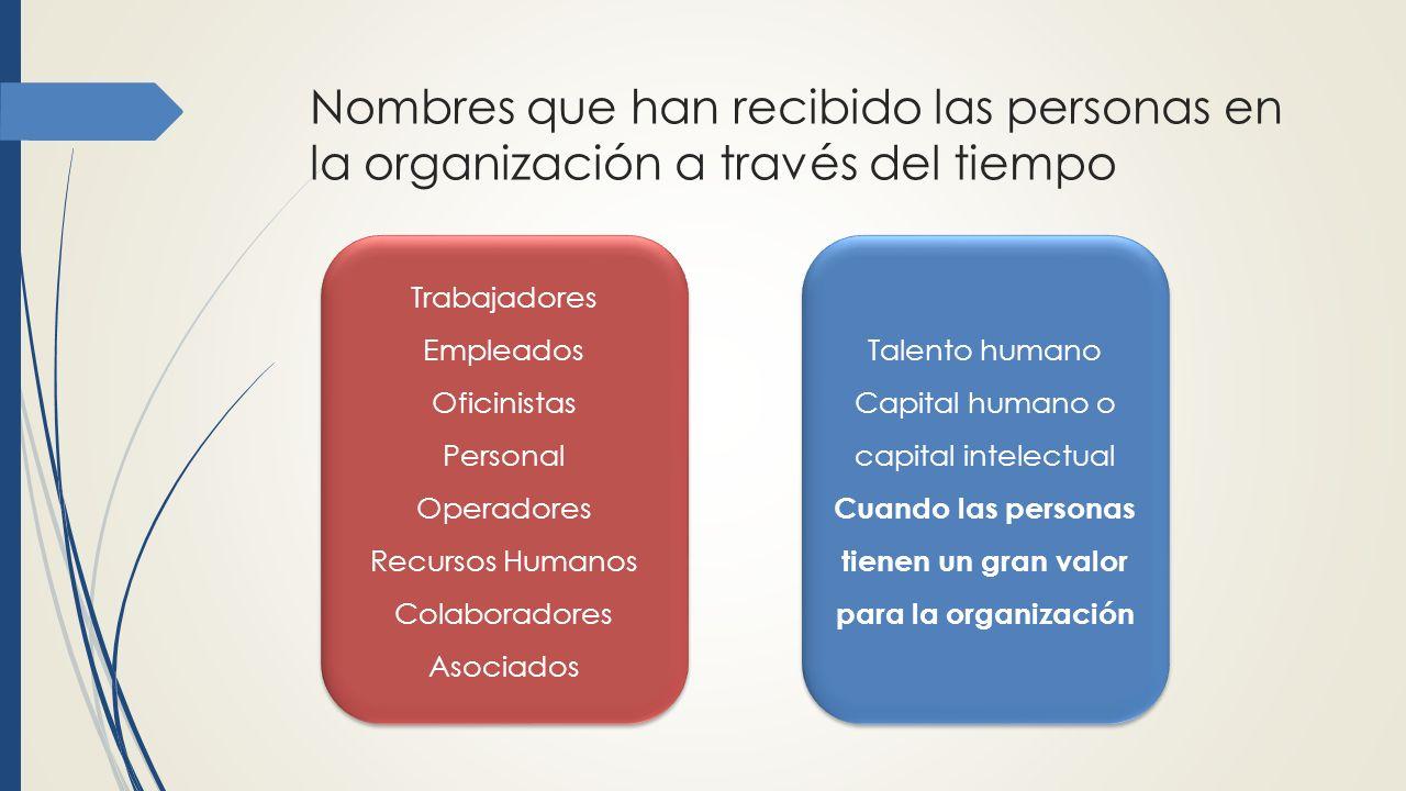 Cuando las personas tienen un gran valor para la organización