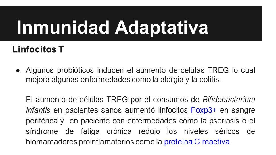 Inmunidad Adaptativa Linfocitos T
