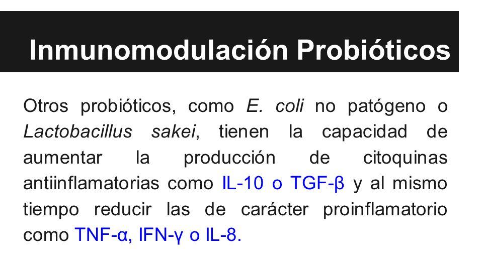 Inmunomodulación Probióticos
