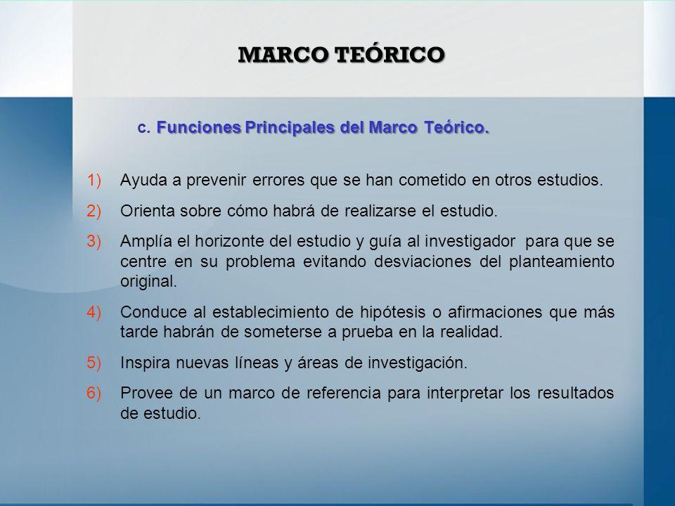 MARCO TEÓRICO a. Concepto de Marco Teórico. - ppt video online descargar