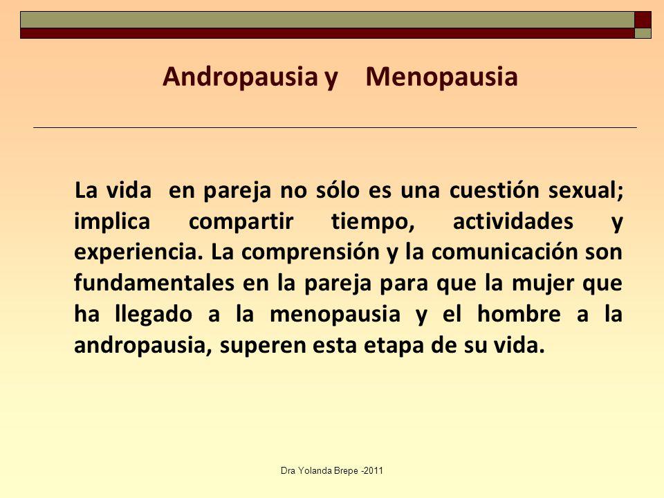 La vida sexual con la menopausia