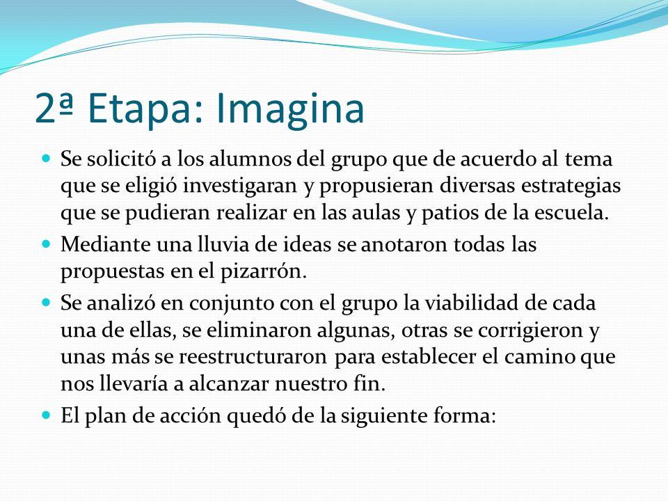 2ª Etapa: Imagina