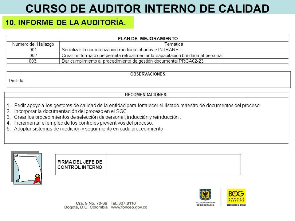 Curso de auditor