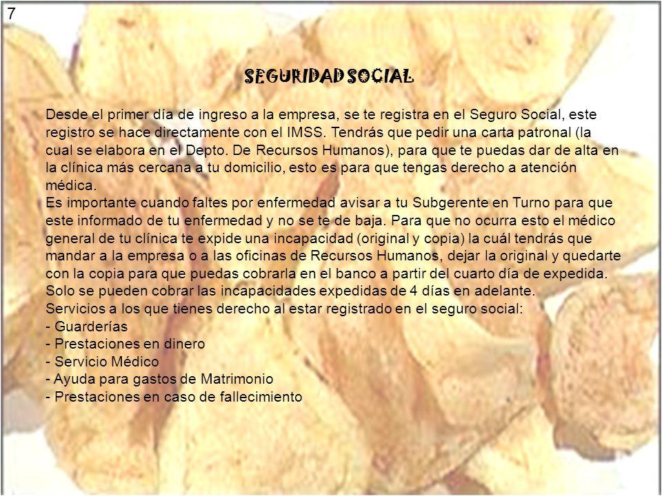 7 SEGURIDAD SOCIAL.
