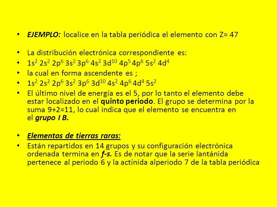 Introduccin por qu determinados elementos tienen propiedades ejemplo localice en la tabla peridica el elemento con z 47 urtaz Gallery