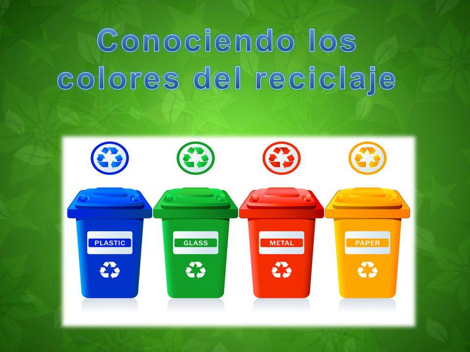 Conociendo los colores del reciclaje ppt video online - Colores para reciclar ...