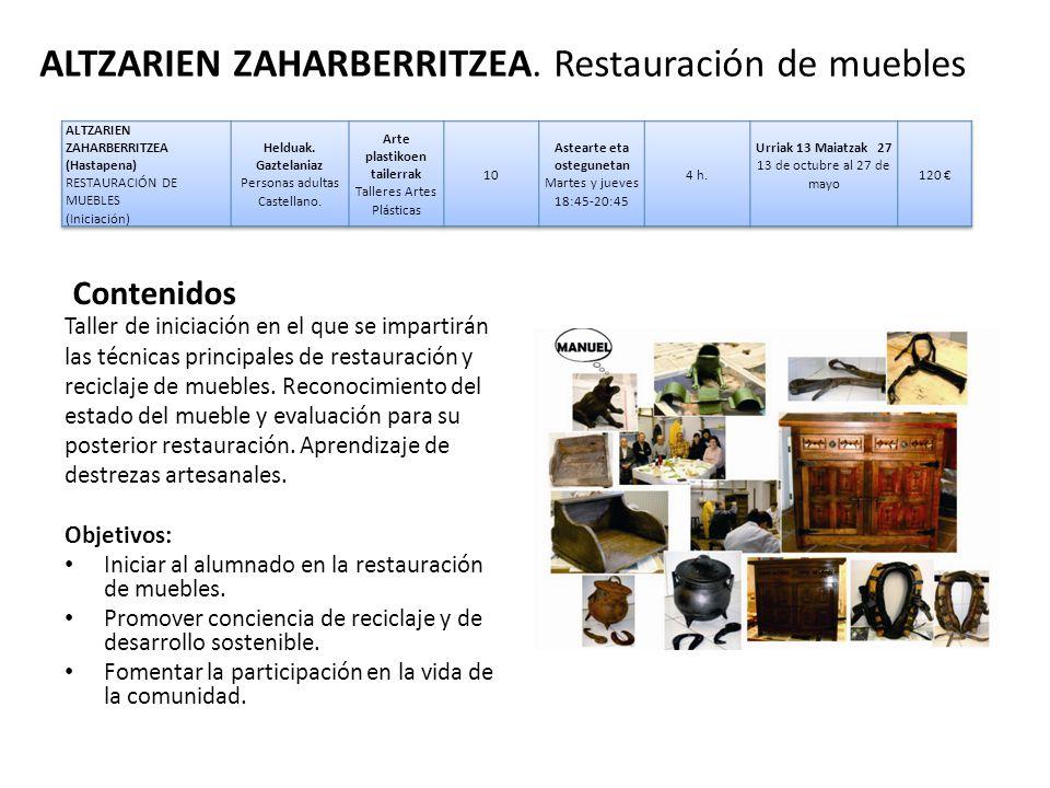 Marrazketa eta pintura dibujo y pintura ppt descargar - Tecnicas de restauracion de muebles ...