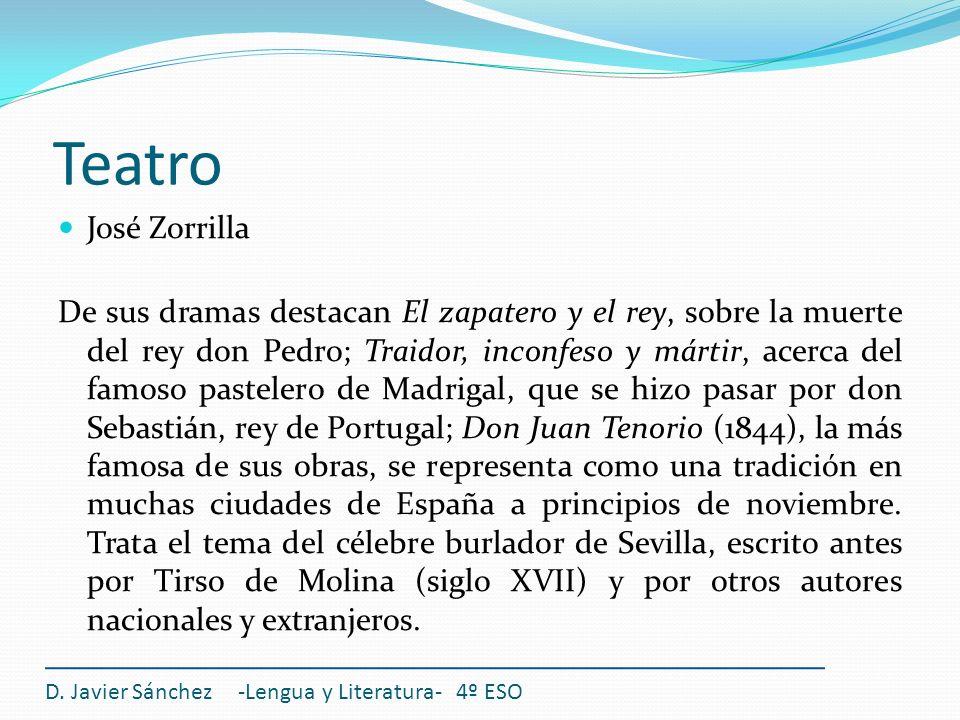 TeatroJosé Zorrilla.