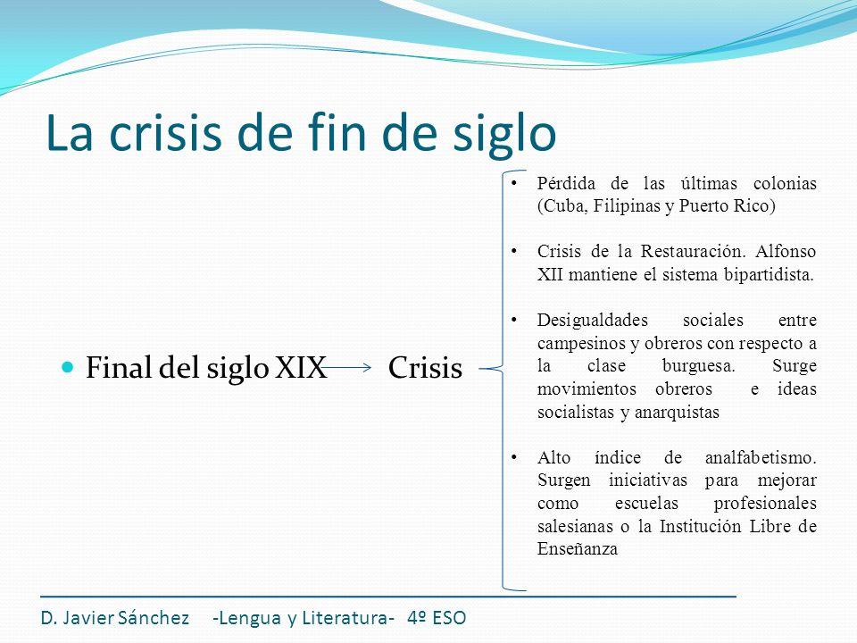 La crisis de fin de siglo