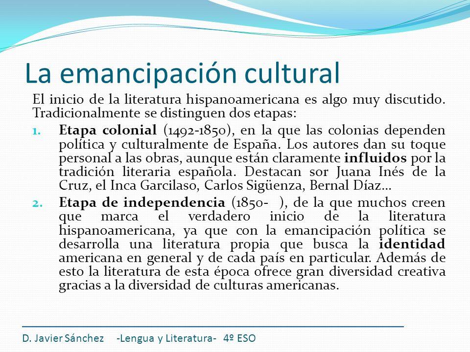 La emancipación cultural