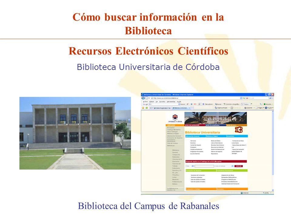 Cómo buscar información en la Biblioteca