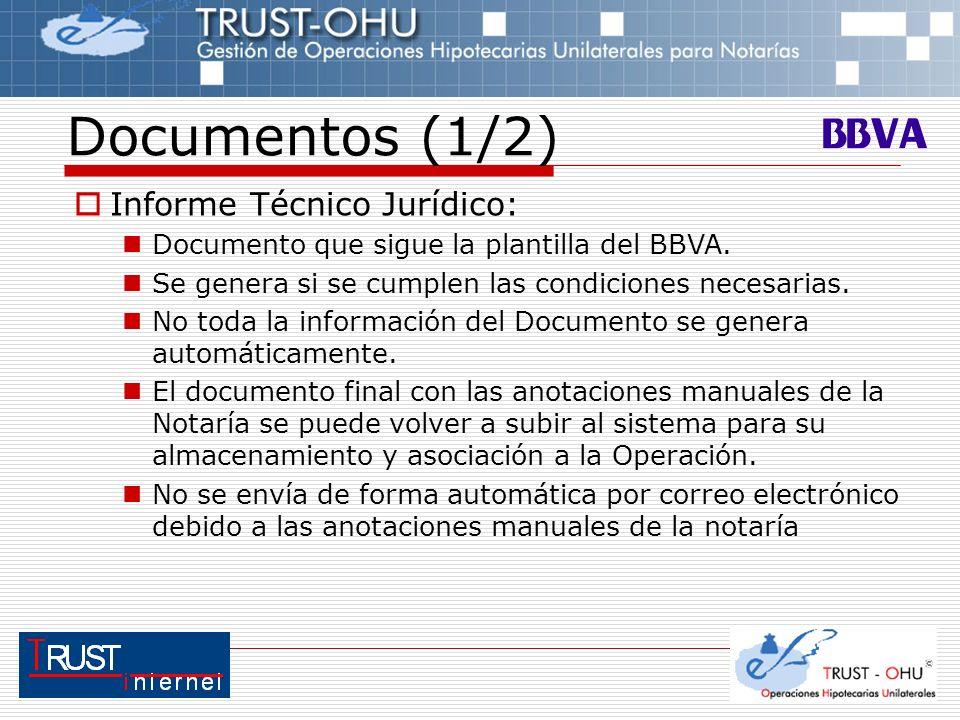 Documentos (1/2) Informe Técnico Jurídico: