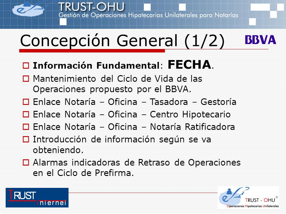 Operaciones hipotecarias unilaterales bbva trust internet - Centro hipotecario bbva ...