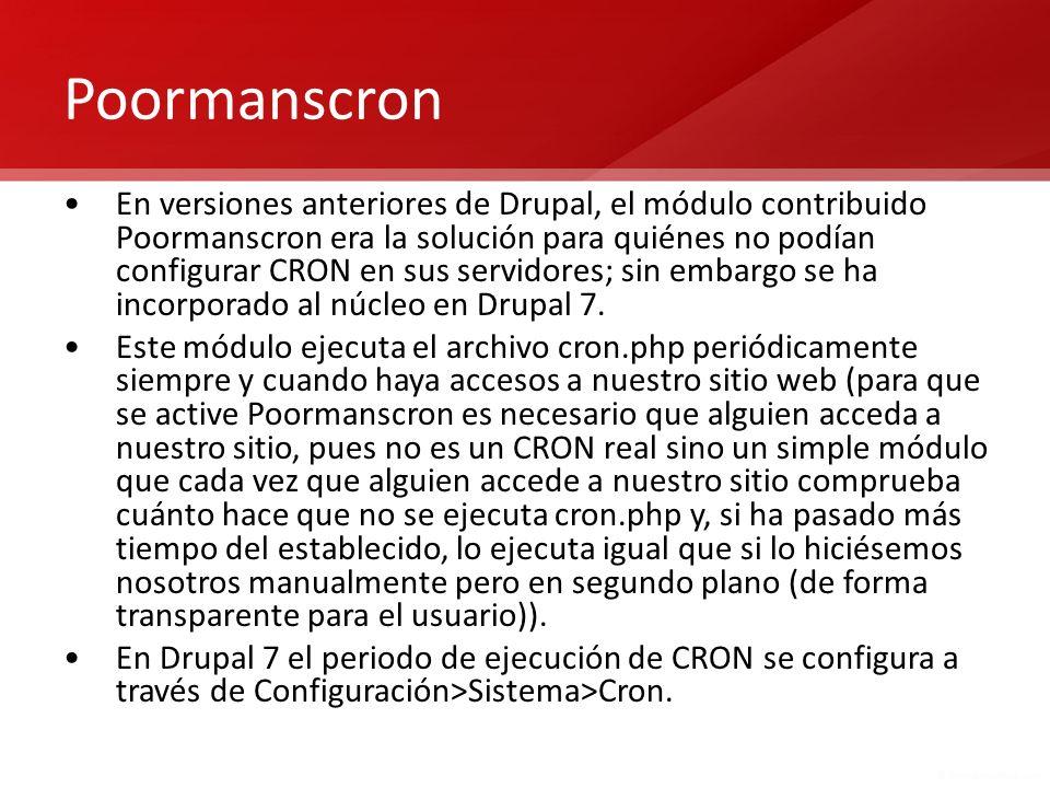 Poormanscron