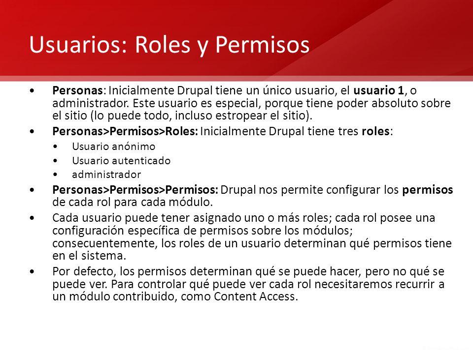 Usuarios: Roles y Permisos