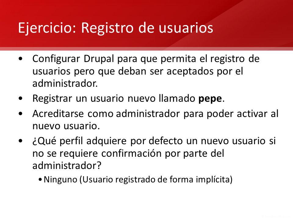 Ejercicio: Registro de usuarios