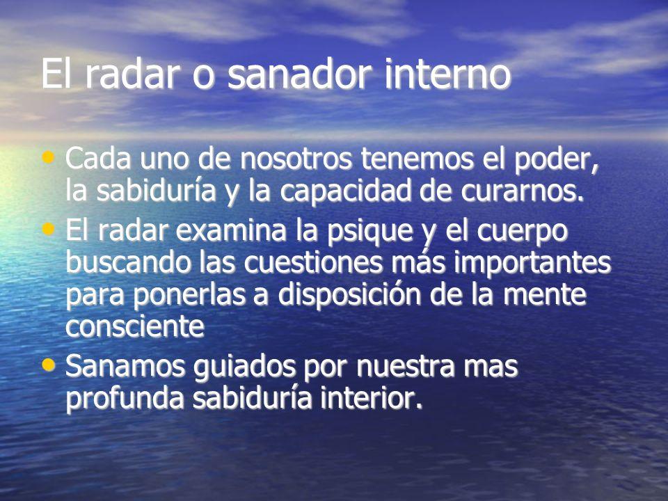 El radar o sanador interno