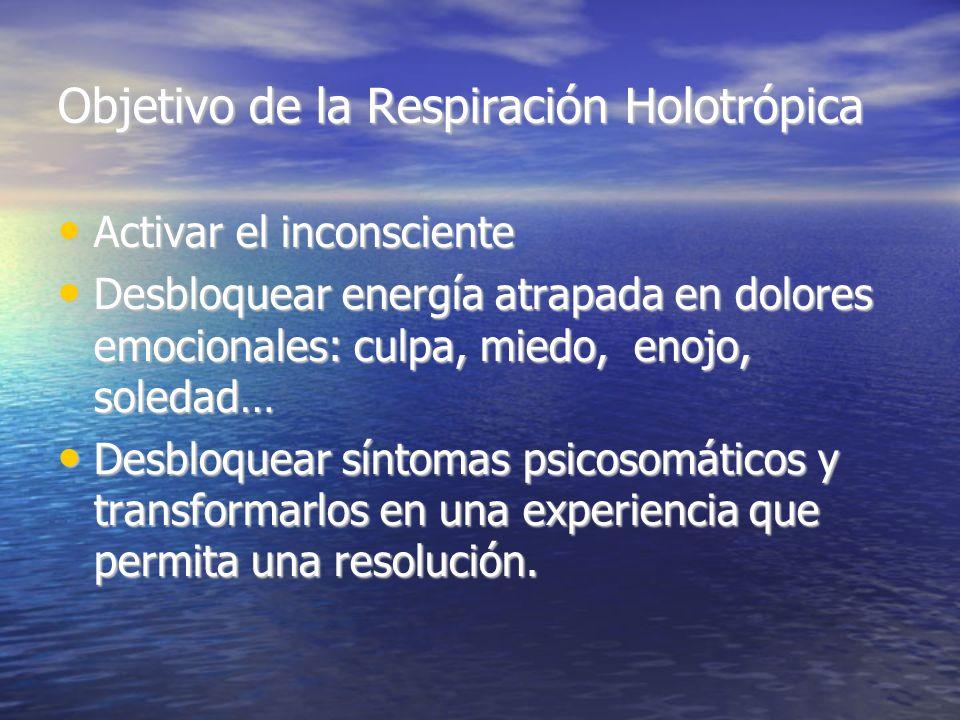 Objetivo de la Respiración Holotrópica