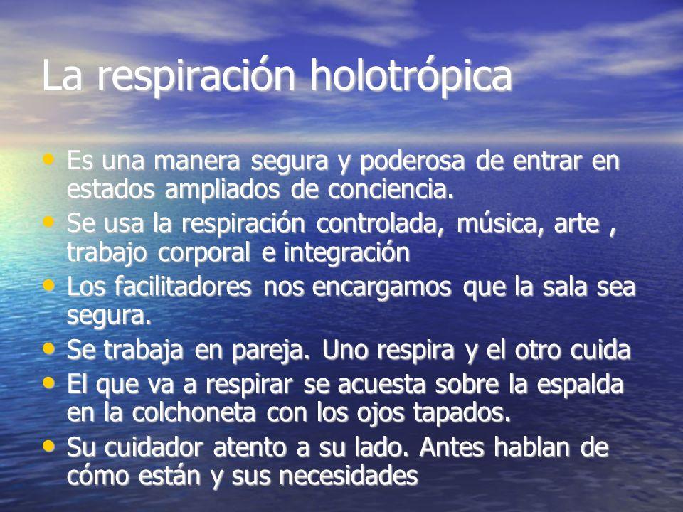 La respiración holotrópica
