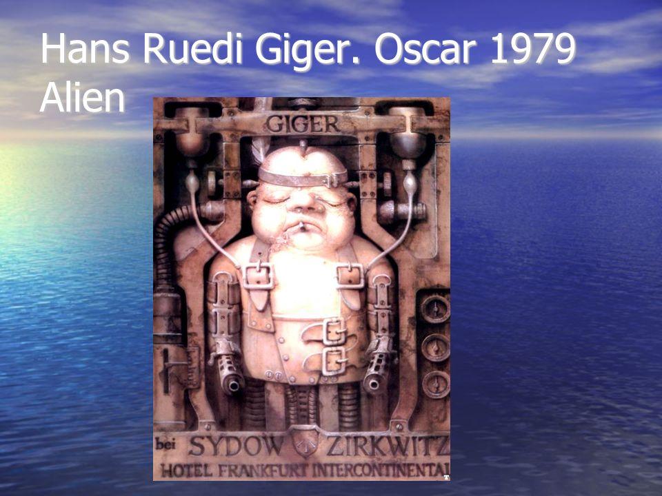 Hans Ruedi Giger. Oscar 1979 Alien