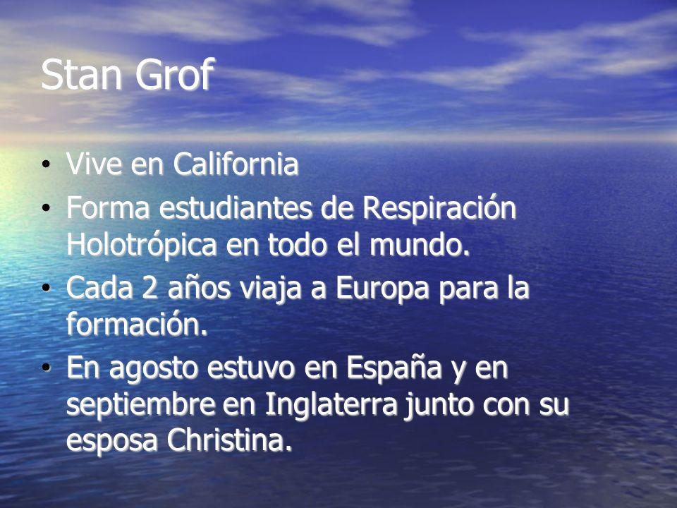 Stan Grof Vive en California