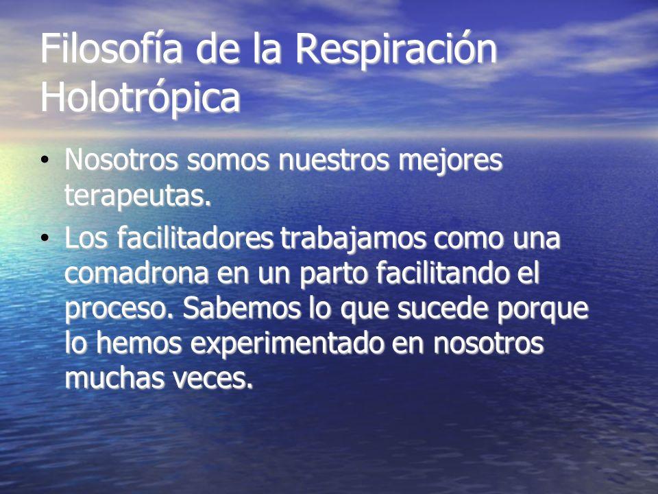 Filosofía de la Respiración Holotrópica