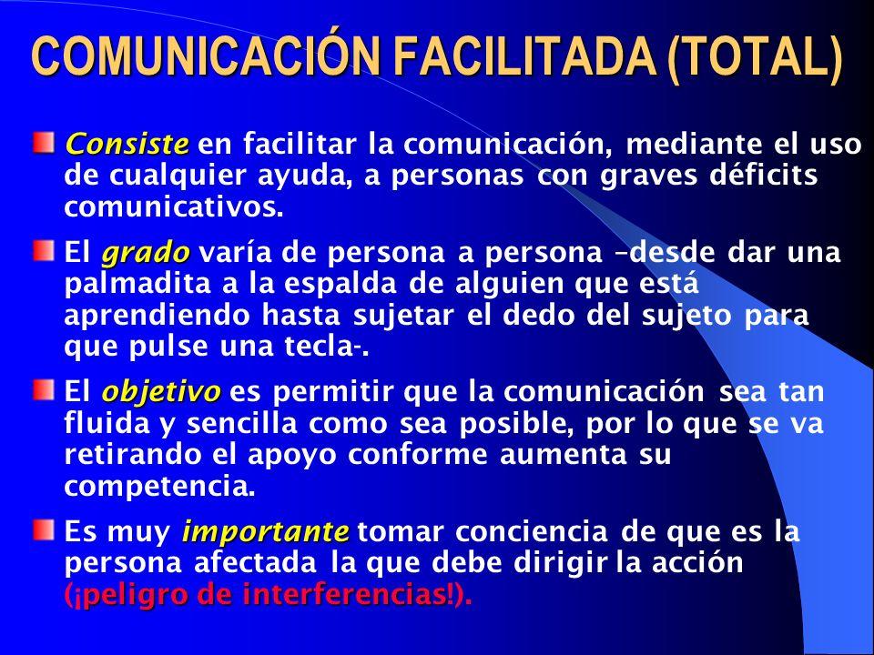 COMUNICACIÓN FACILITADA (TOTAL)