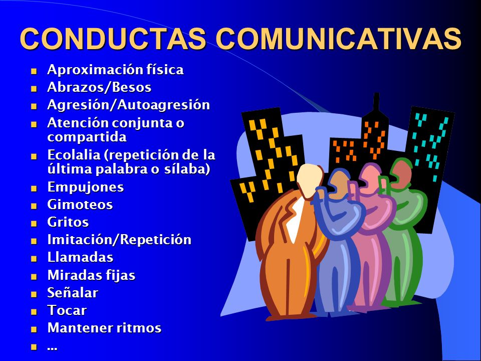 CONDUCTAS COMUNICATIVAS