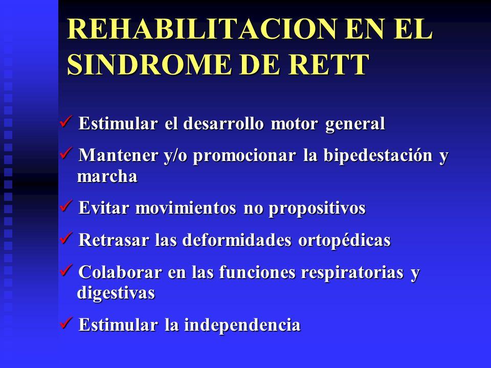REHABILITACION EN EL SINDROME DE RETT