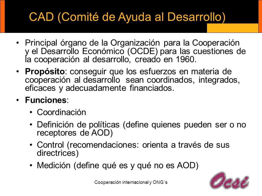 CAD (Comité de Ayuda al Desarrollo)
