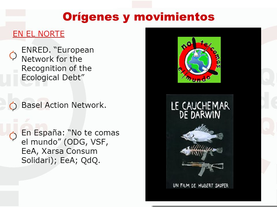 Orígenes y movimientos