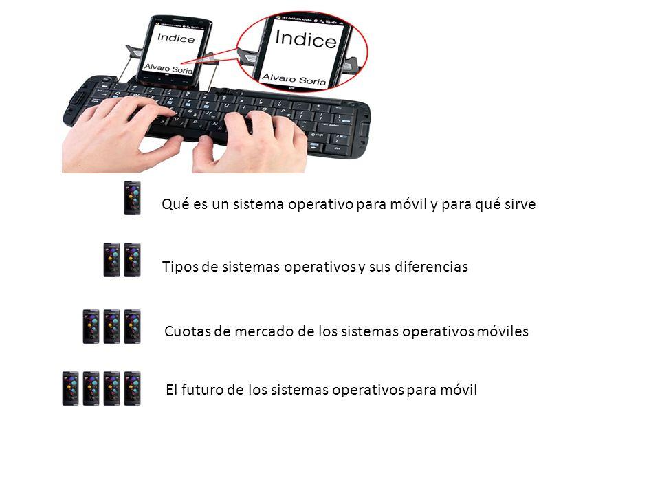 Qué es un sistema operativo para móvil y para qué sirve