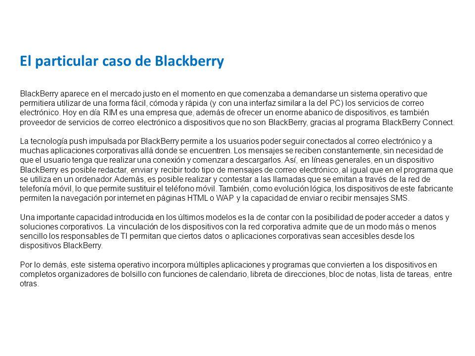 El particular caso de Blackberry