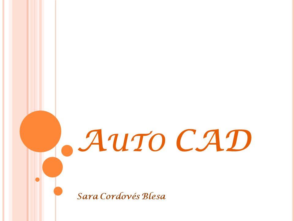 Auto CAD Sara Cordovés Blesa