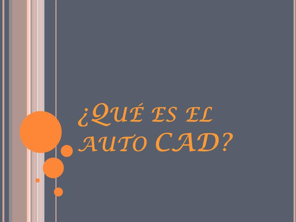 ¿Qué es el auto CAD