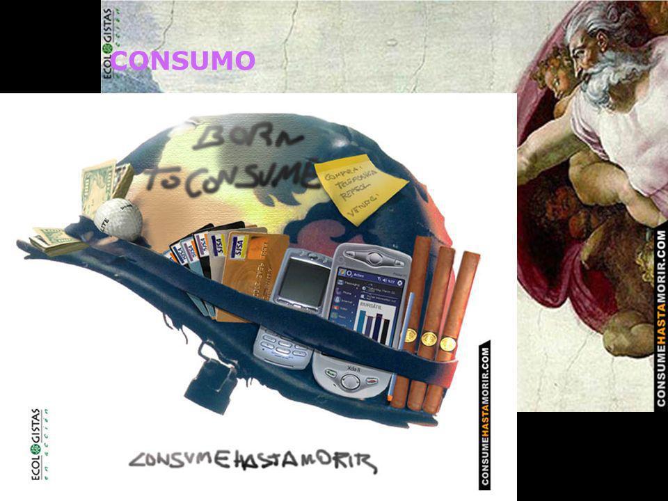CONSUMO 1. Difusión de la necesidad de un consumo respetuoso con el medio y las personas. Reducción del consumo.