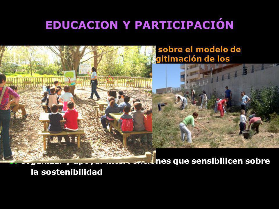 EDUCACION Y PARTICIPACIÓN