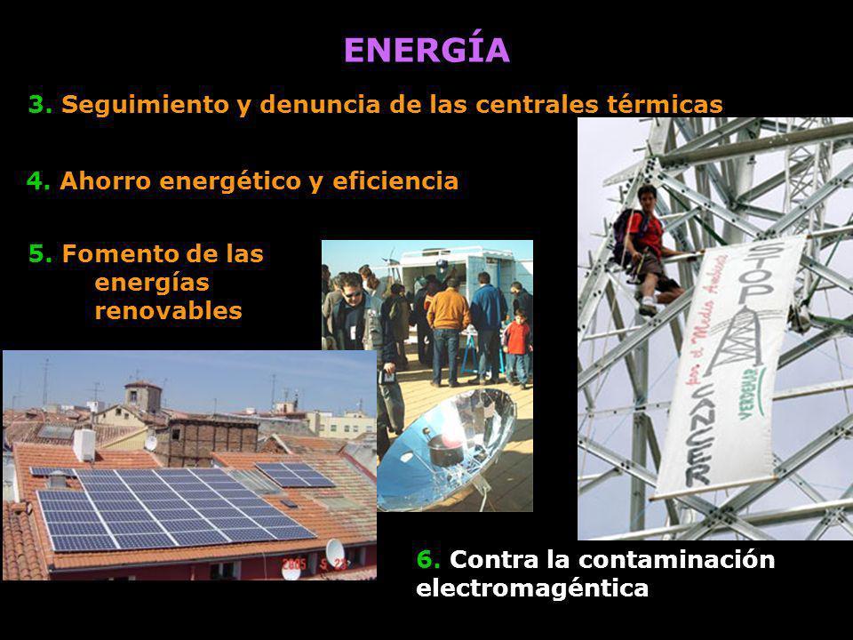 ENERGÍA 3. Seguimiento y denuncia de las centrales térmicas