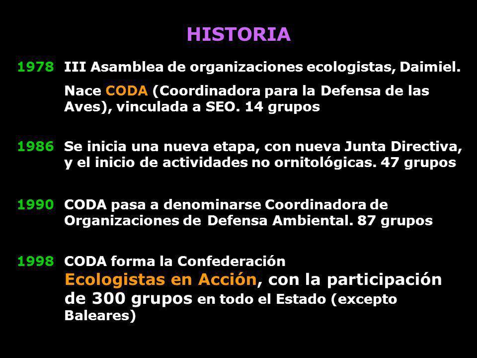 HISTORIA 1978 III Asamblea de organizaciones ecologistas, Daimiel.