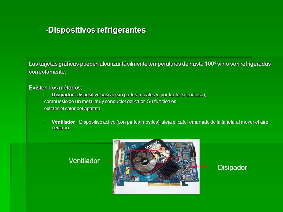 -Dispositivos refrigerantes