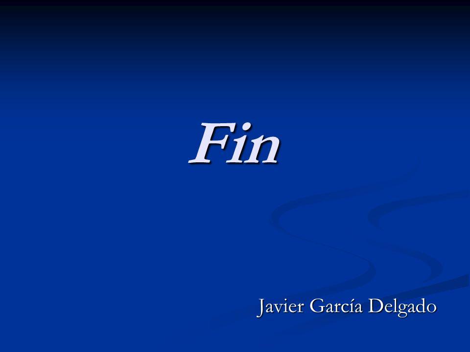 Fin Javier García Delgado