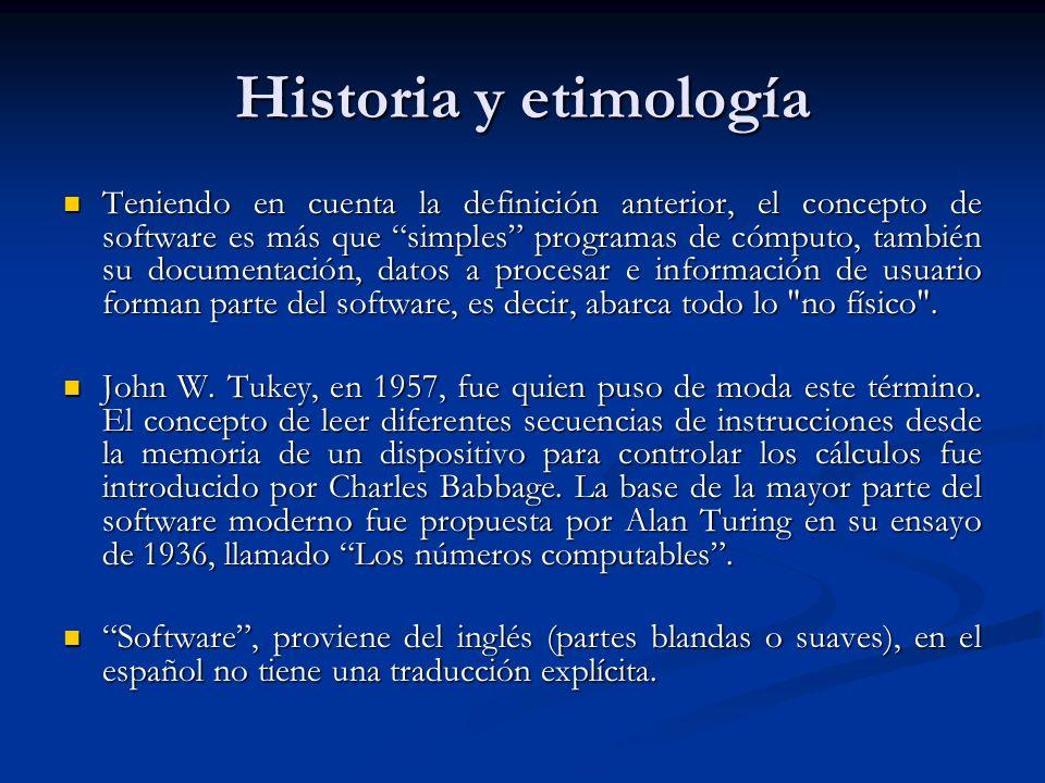 Historia y etimología