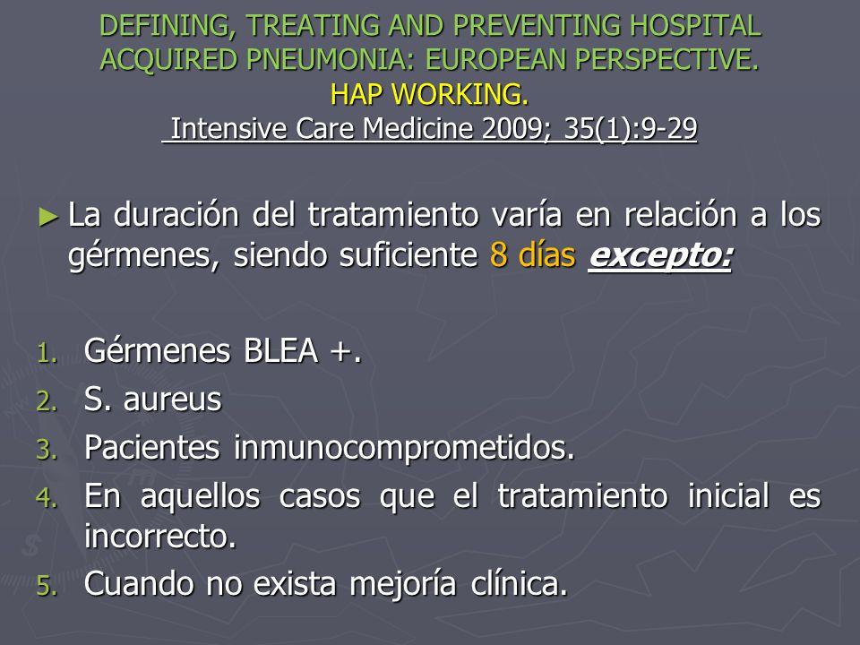 Pacientes inmunocomprometidos.