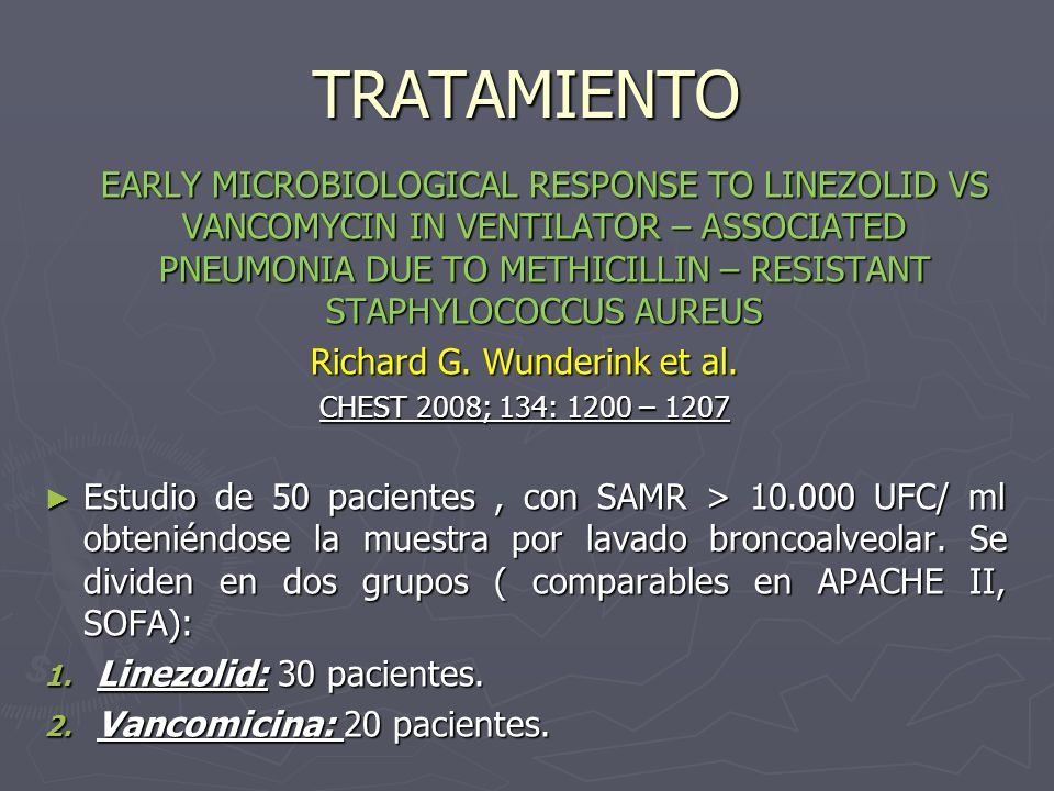 Richard G. Wunderink et al.