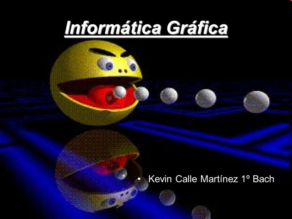 Informática Gráfica Kevin Calle Martínez 1º Bach