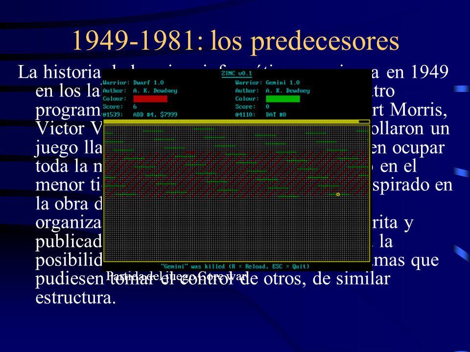 1949-1981: los predecesores