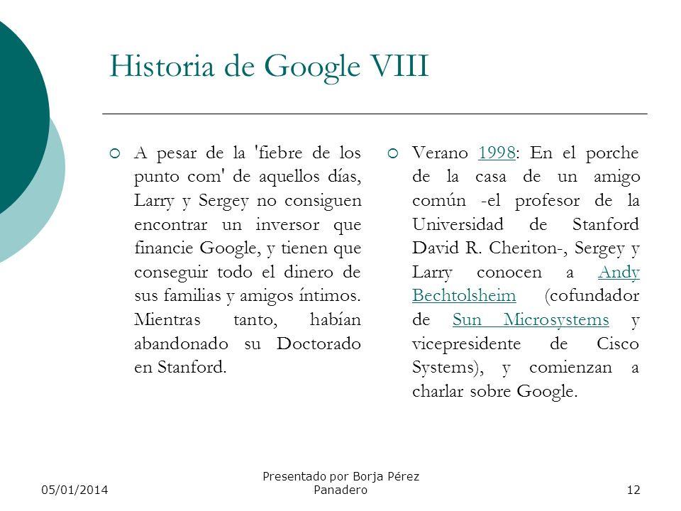 Historia de Google VIII